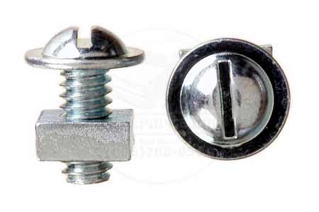 Washer head License plate Retainer screw & nut