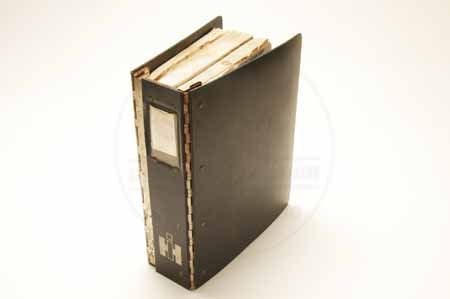 Dealer binder for Service & parts manuals.BINDER ONLY