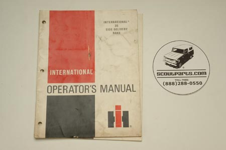 International 35 Side Delivery Rake  Operators's Manual 1083582R3.2-79
