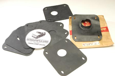 Scout 80, Scout 800 - Steering Column to Firewall Seal