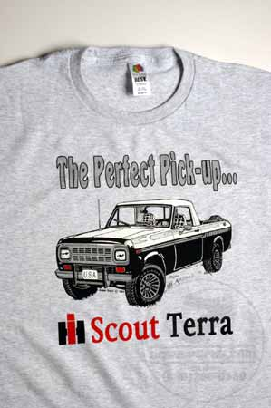 "Scout II IH Scout Terra ""The Perfect Pick-up"" T-Shirt"