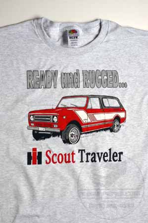 "Scout II IH Scout Traveler ""Ready and Rugged"" T-Shirt"