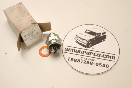 Scout II Neutral Safety Switch  - NEW OLD STOCK