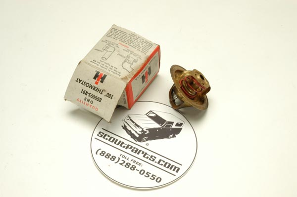Scout II, Scout 800 Thermostat -180 Degree for all V-8 engines - - New old stock