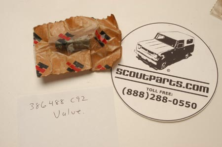 Scout II, Scout 800 6 Cylinder PCV  Valve