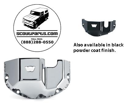 Scout II, Scout 800 Dana-44 Differential Skid Plates