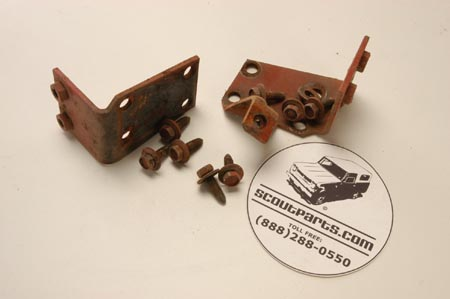 Windshield Mounting Hardware - used