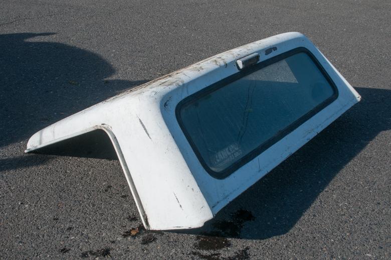 Scout II Cab top - Fiberglass
