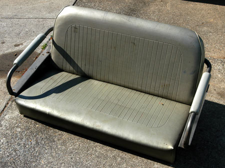 Scout 80, Scout 800 Rear Bench Seat - USED