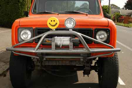 Scout II Off Road  Front Winch Bumper