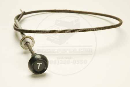 Scout 80 Throttle Cable - New Old Stock.