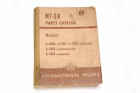 IH MT-68 Parts Catalog