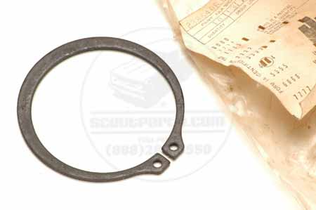 Scout II Snap Ring Retaining Clip - New Old Stock