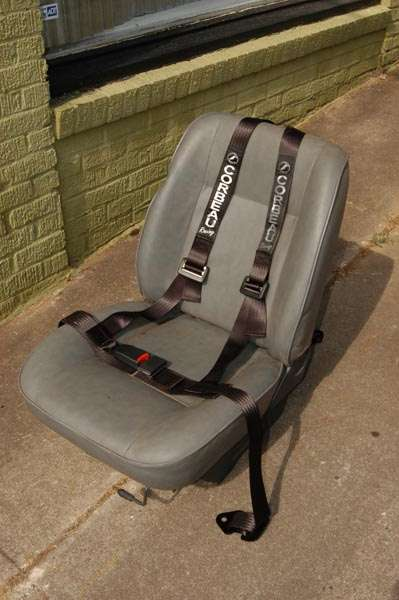 Scout II, Scout 80, Scout 800 Corbeau 3 Point Harness Seat Belt
