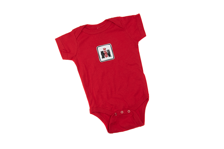 IH Onesie for Babies, Crayon Style IH