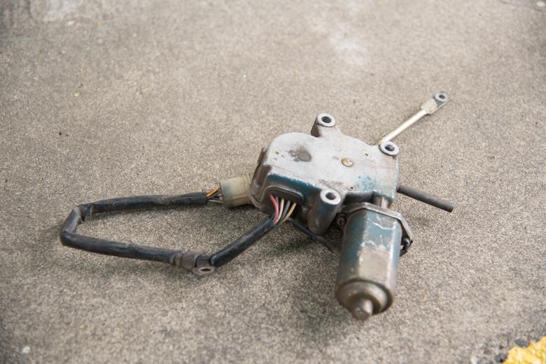diesel motor and gear box used