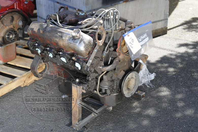 196 Engine - Non-Improved Cooling