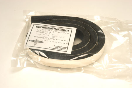 Scout 80 Lower Windshield Seal