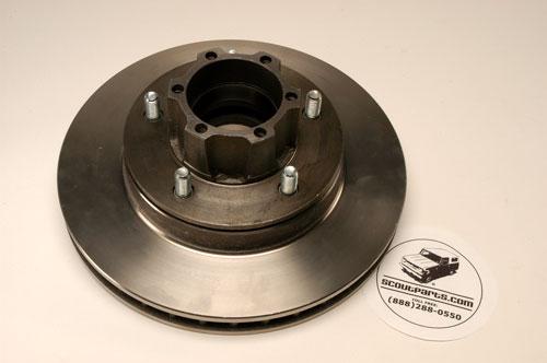 Front Brake Rotor & Hub Assembly