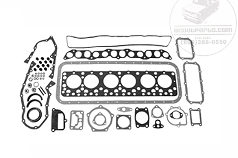 sd33 engine gasket kit - international scout parts - scout ii parts