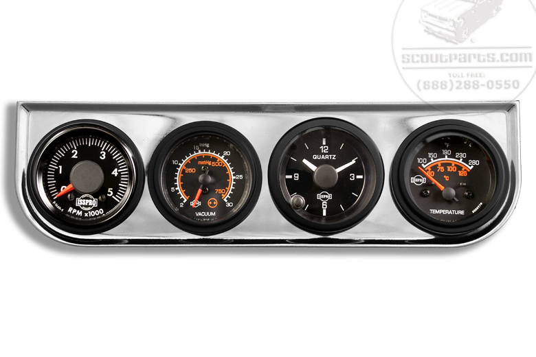 Scout II Gauge Kit - Under Dash Mount