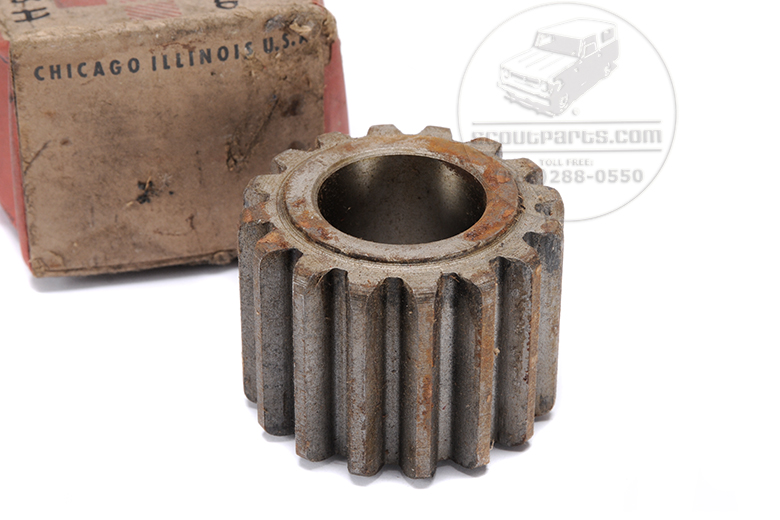 Scout II, Scout 800 Gear Pinion- New Old Stock