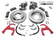 Scout 80 Disc Brake Rear Conversion Kit With E-brake -   Dana 27 Axles