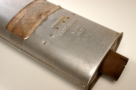 Scout II, Scout 80, Scout 800 Muffler - New Old Stock