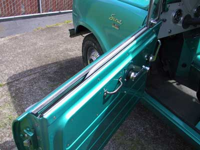 Scout 80, Scout 800 Door Window Kit 80 & 800 -- Felt And Squeegie - Beltline Weatherstrip (Keeps Water Out Of Door) 1961-71 For
