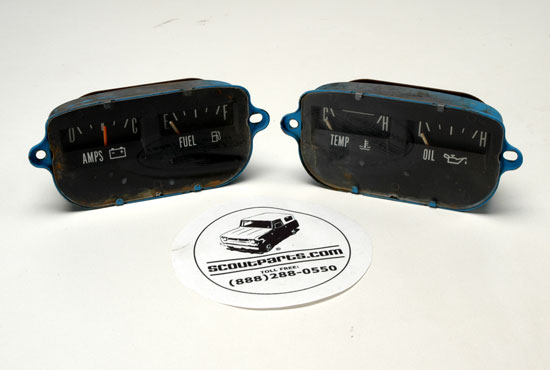 Scout II Gauges for Instrument Panel  - Tested and Working