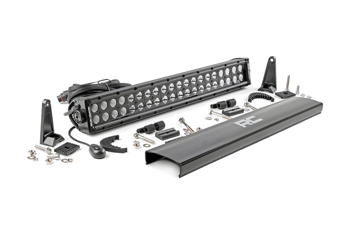 Scout II, Scout 80, Scout 800 20in Rough Country CREE Black Series Dual Row LED Light Bar
