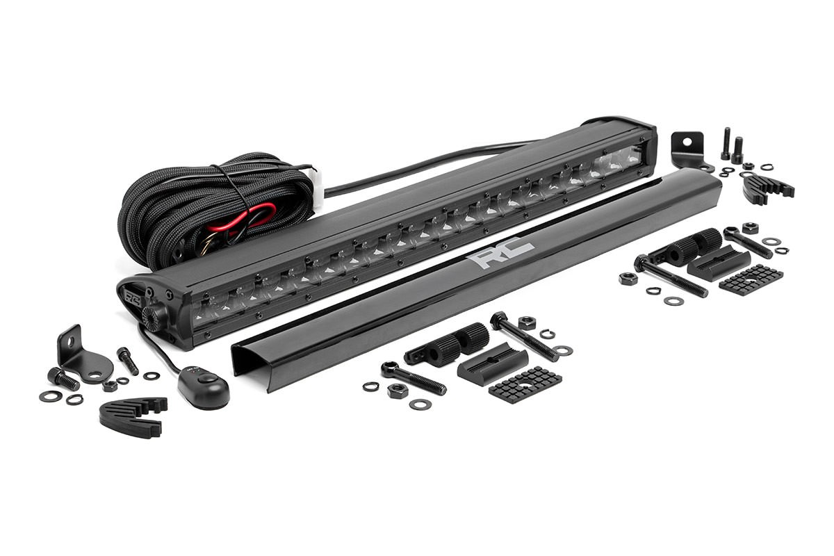 Scout Ii 80 800 20in Single Row Rough Country Cree Led Wiring Harness Light Bar