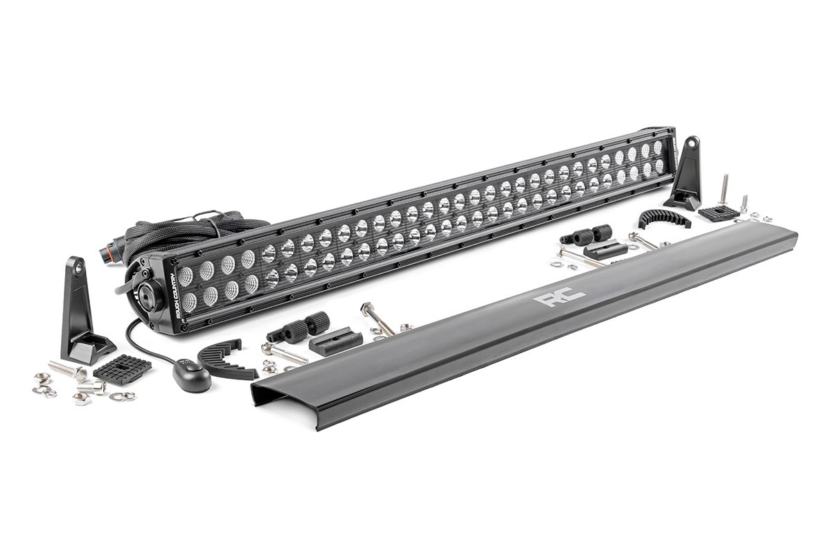 Scout II, Scout 80, Scout 800 30in Dual Row Rough Country CREE Black Series LED Light Bar