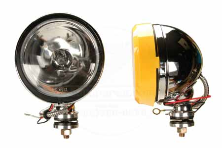 Chrome KC Daylighter Fog Lights 100w System