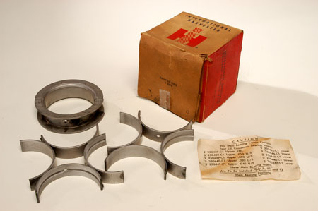 Scout 80, Scout 800 Main Bearing Set