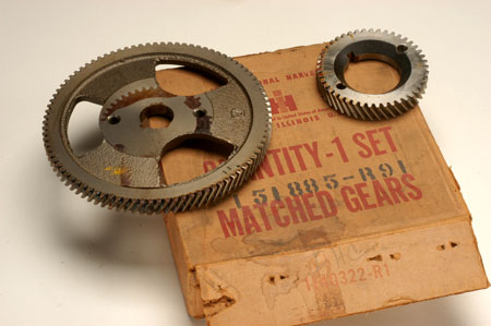 Matched Timing Gears New Old Stock