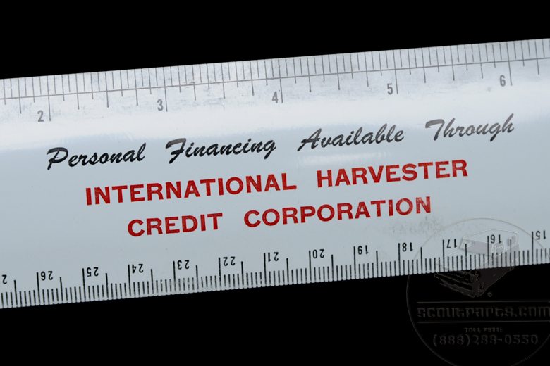 Antique Flexible  Ruler, Dealer only promo