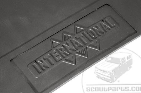 Scout II, Scout 80, Scout 800 Mud Flaps, Triple Diamond Logo