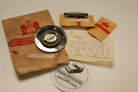 Scout 80, Scout 800 Gas Cap Kits   - New Old Stock