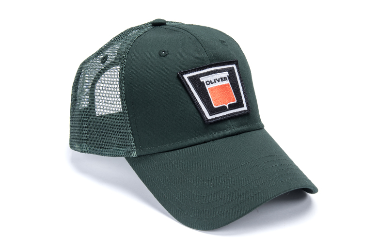 Oliver Hat Keystone With Green Mesh Back