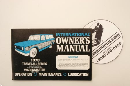 1973  Owners Manual