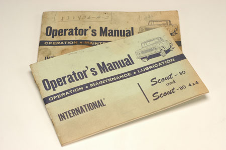 Scout 80 Operator's Manual