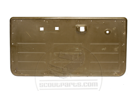 Scout II Interior Door Skin - Metal