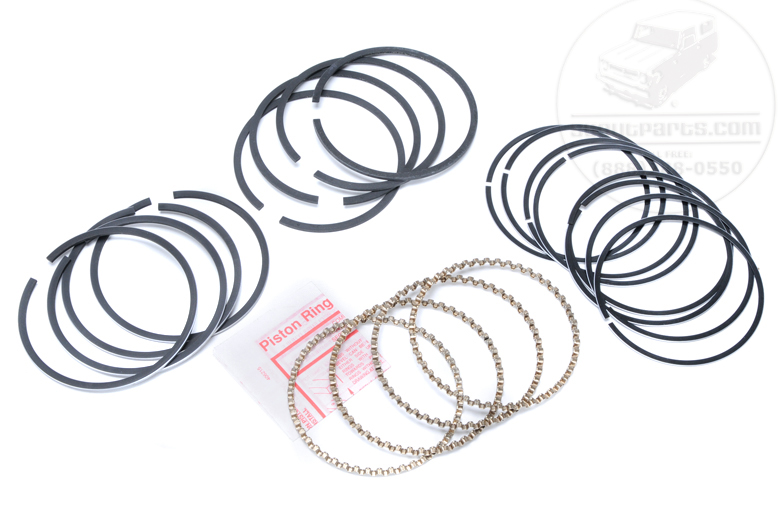Scout 80, Scout 800 Piston Ring Set - 196 - 040 Overbore