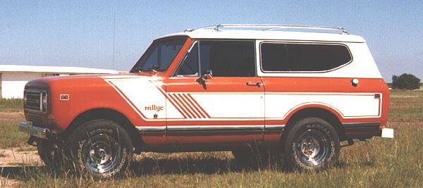 '78-'79 IH  Rallye Stripes Decals