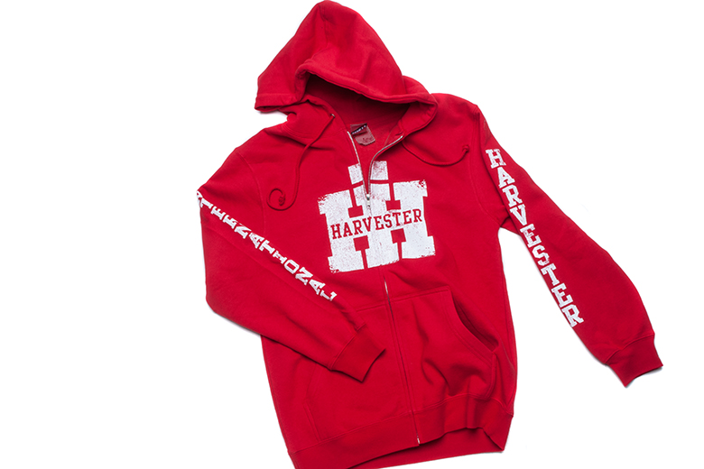 IH Hoodie sweatshirt zip-up - While supplies last