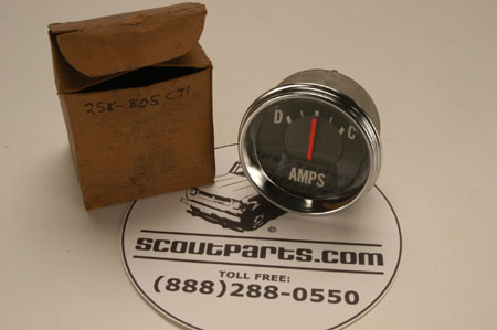 Scout 800 Amp Gauge  Used