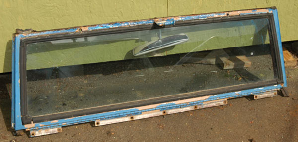 Scout 80 Windshield Frame - used