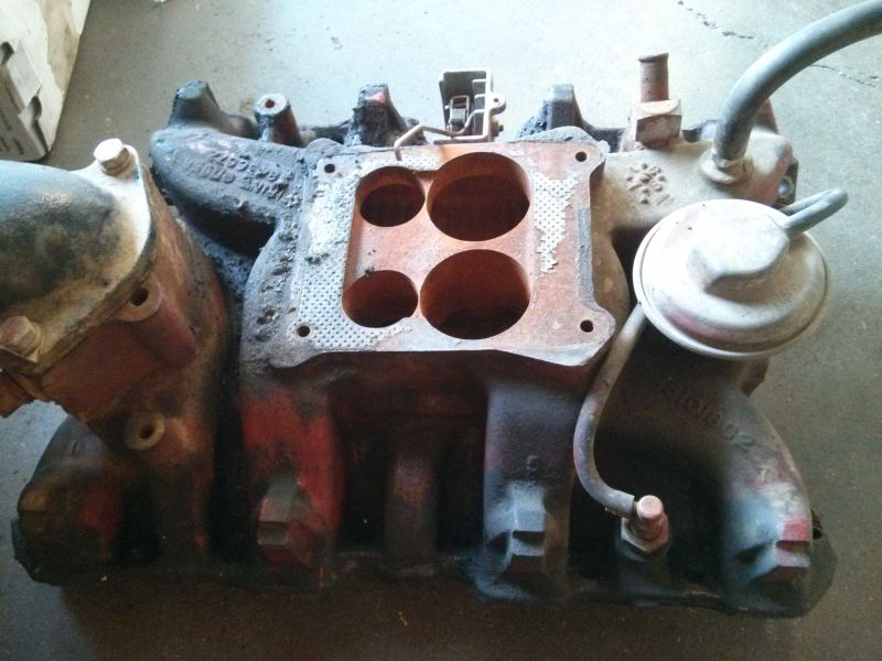 Original Spreadbore 4 Barrel Intake Manifold