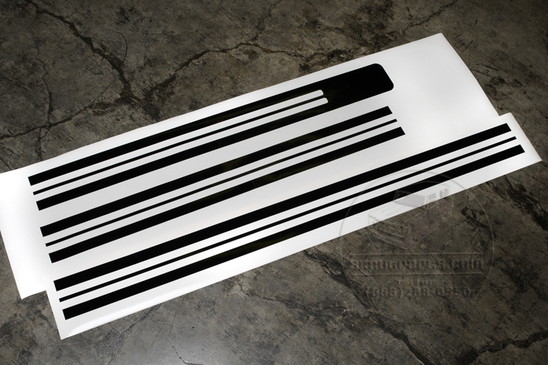 Stripes - Vinyl Decal Kit